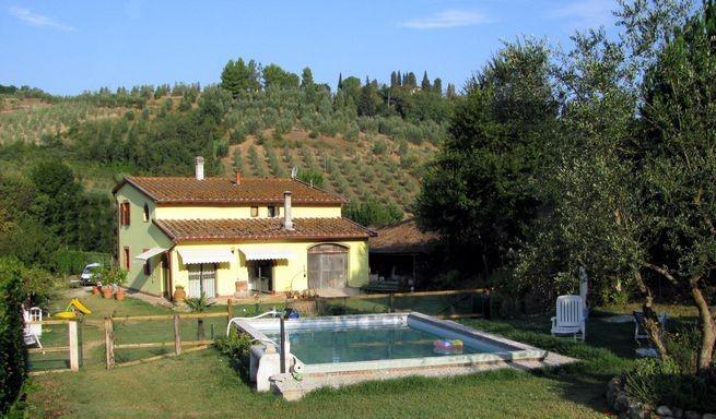 San Miniato - villa con piscina
